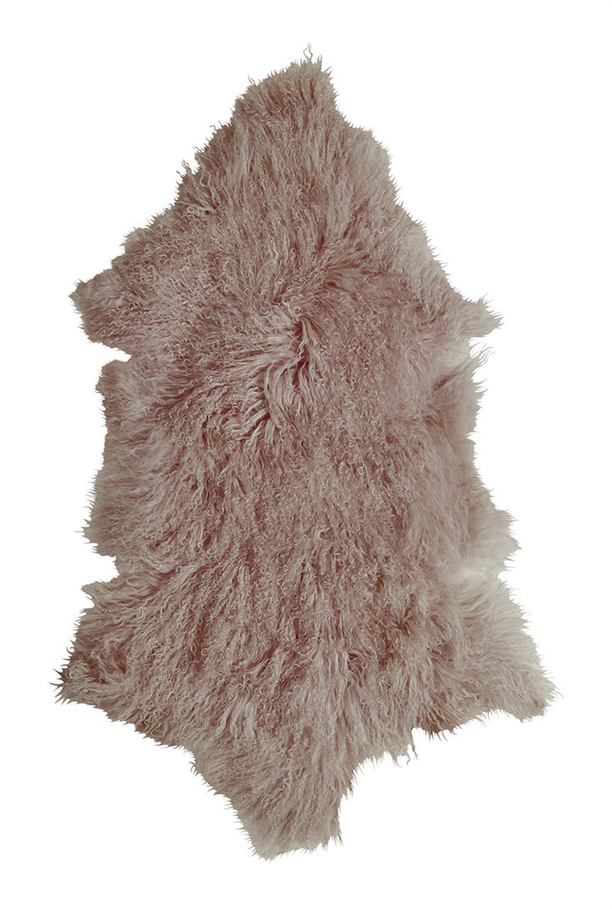 Jehněčí kožešina TIBET Barva: Taupe, Velikost: 80–90 cm