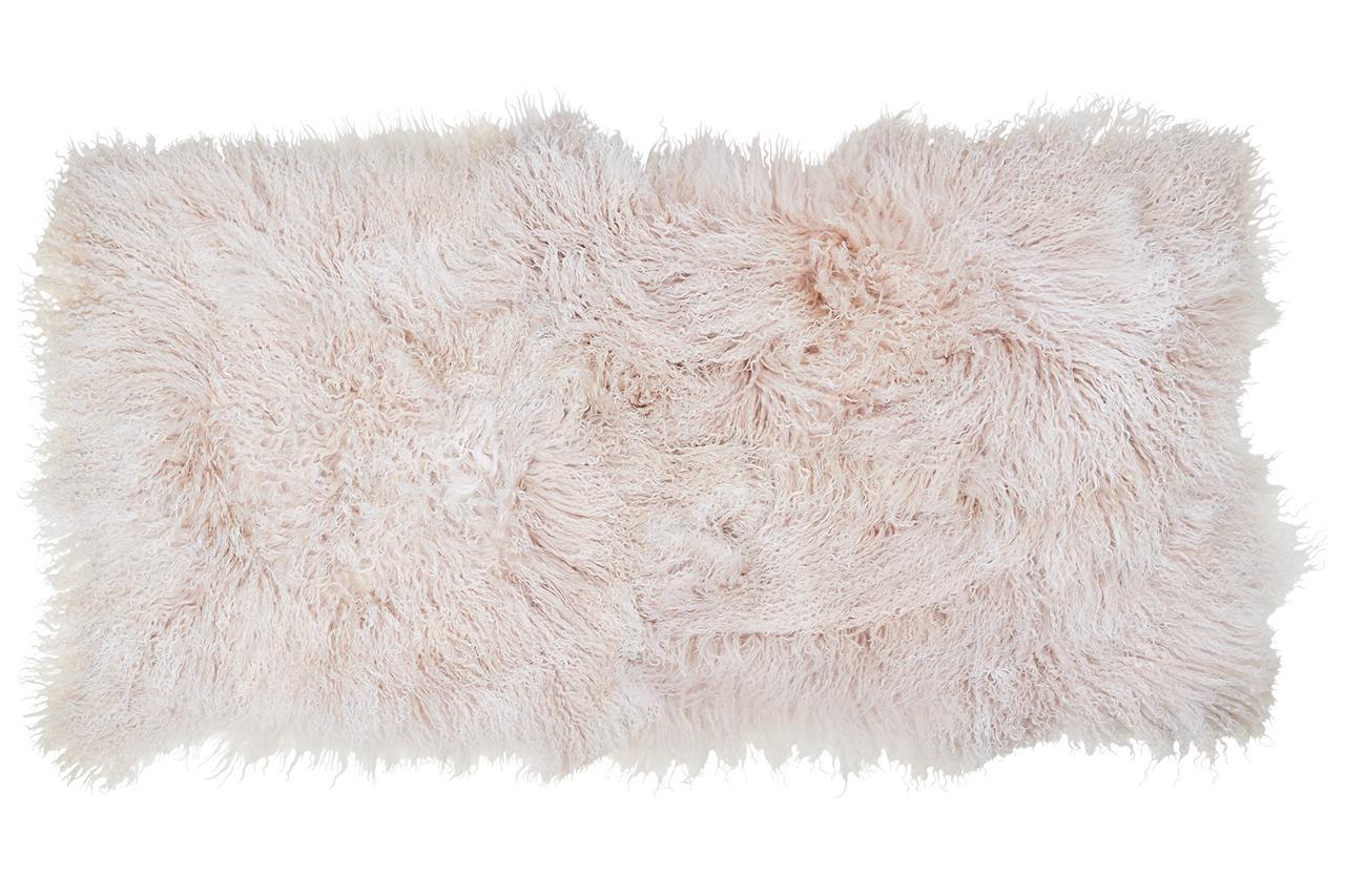 Jehněčí kožešina TIBET pás Barva: Champagne, Velikost: 60 × 120 cm
