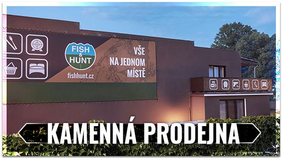 Kamenná prodejna FISH&HUNT