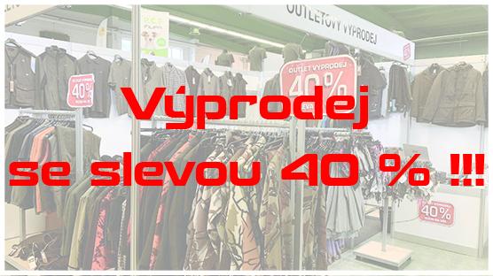 Výprodej se slevou 40 % !!!
