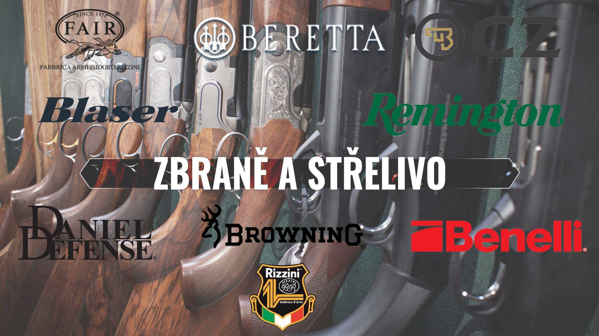 Zbraně a střelivo