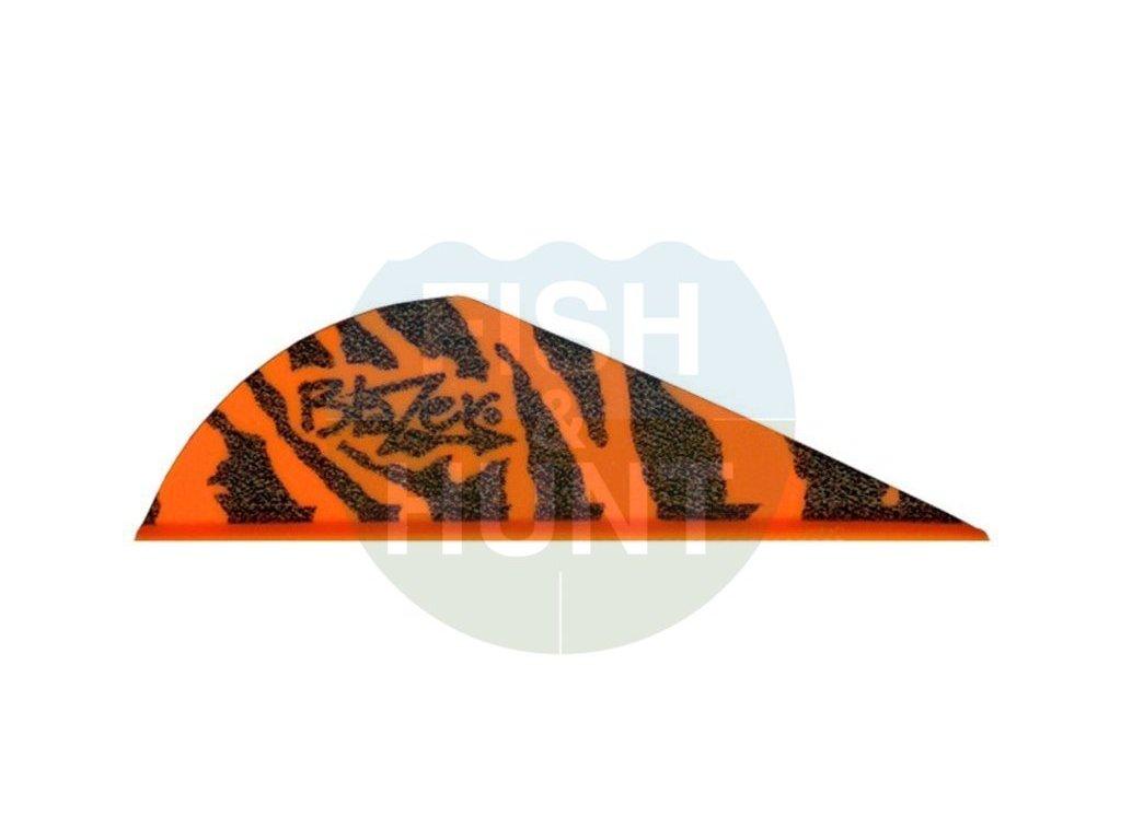 """Letka Bohning Blazer Tiger 2"""" (Barva Green)"""