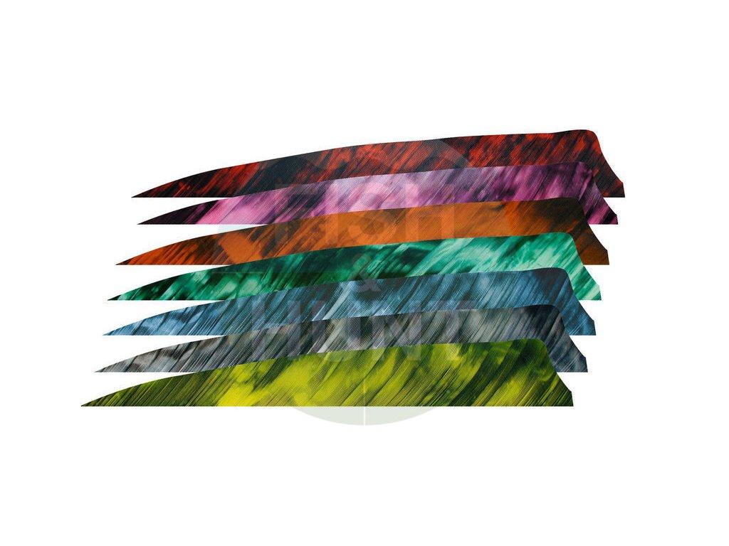 "Letka Gateway Feather 3"" Shield RW (Barva Camo Tre Yellow)"