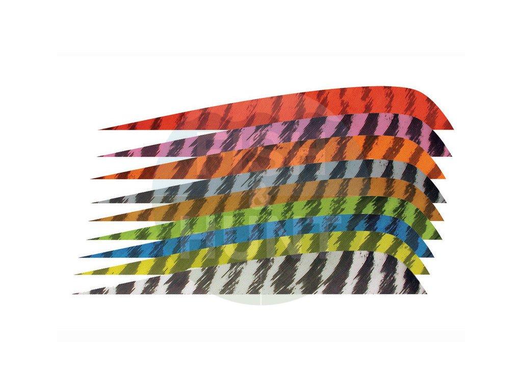 """Letka Gateway Feather 4"""" Parabolic RW (Barva Yellow)"""