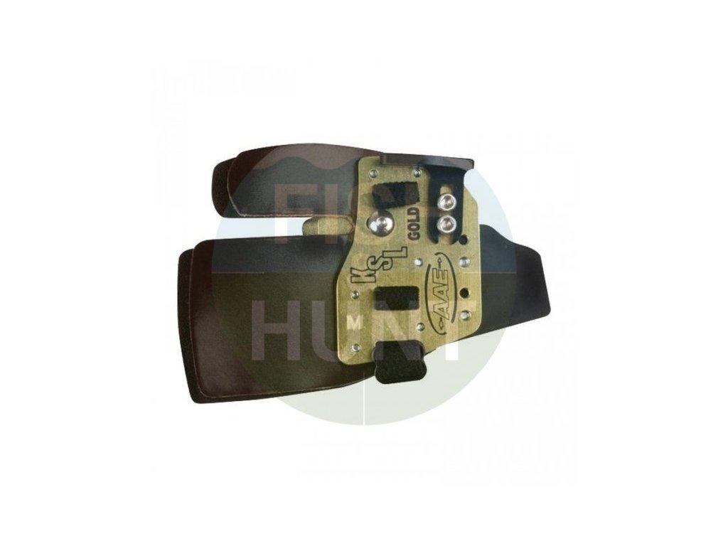 Chránič prstů AAE Arizona Tab KSL Gold Cordovan Alu Black (Levá / pravá RH, Velikost L)
