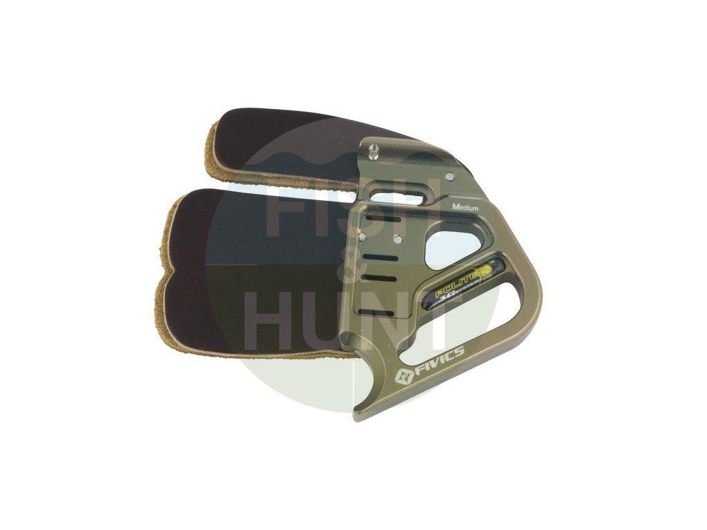 Chránič prstů Fivics Tab Polite 3 Finger Cordovan (Levá / pravá RH, Velikost S)