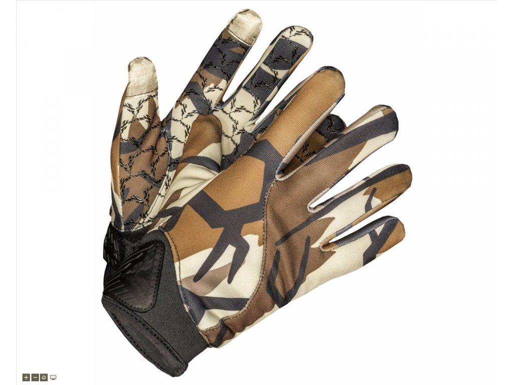 Predator Camo NON-TYPICAL BOW rukavice (Barva fall grey, Velikost XL)