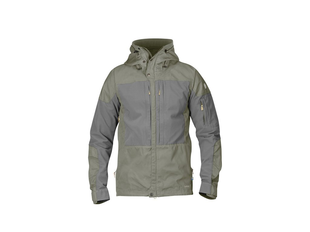 Fjallraven Keb Jacket bunda (Barva 021-020-Fog-Grey, Velikost XL)