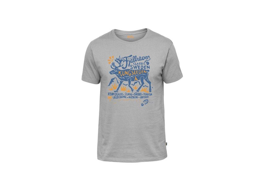 Fjallraven Classic SWE tričko (Barva 020-Grey, Velikost XL)