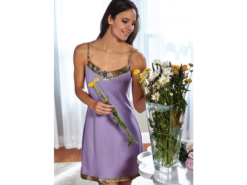 Wilderness Dreams Realtree xtra Purple Haze Sleep košilka (Velikost XL)