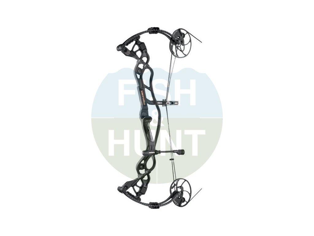 """Kladkový luk Hoyt Carbon Defiant 34 (Barva Black, Délka nátahu 29-31"""", Síla nátahu 60#)"""