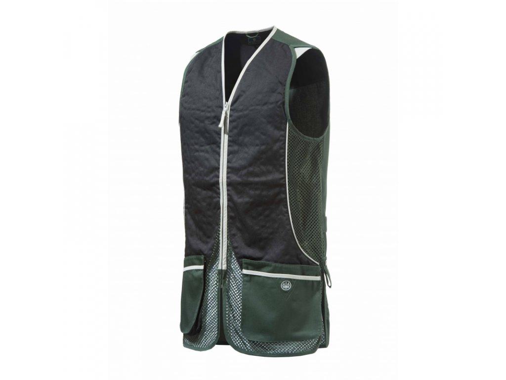 Beretta střelecká vesta Silver Pigeon, zelená (Velikost XL)