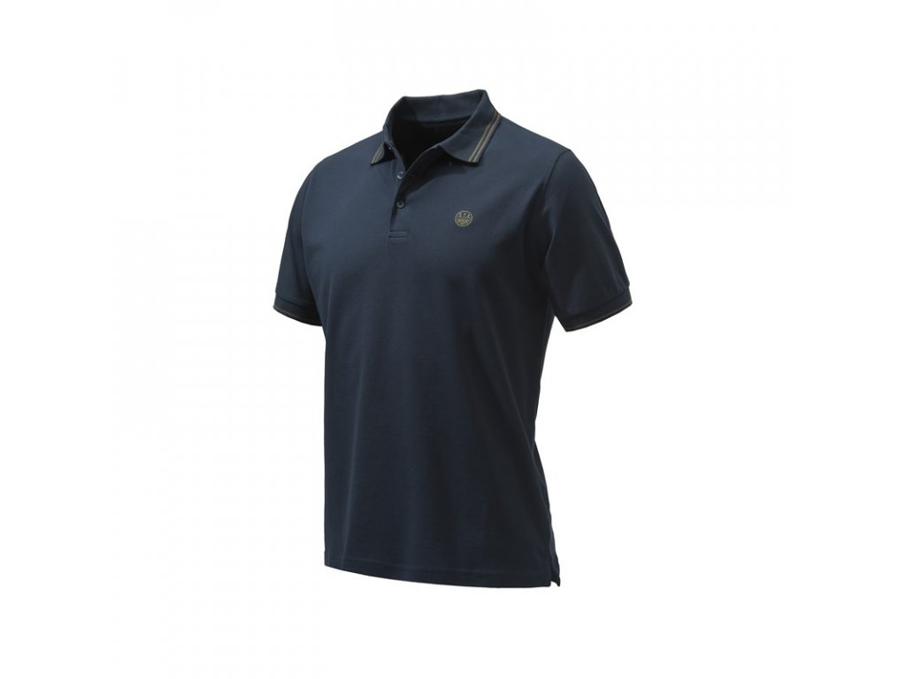 Beretta Trident Corporate tričko, tmavě modré (Velikost XL)