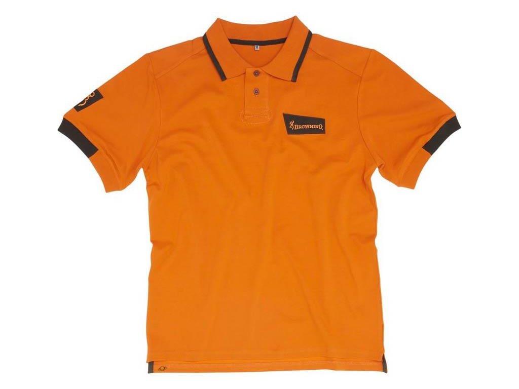 polo shirt man browning ultra orange z 1250 125075