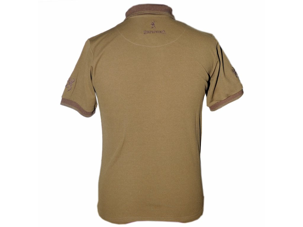 Khaki Polo tričko, Browning (Velikost XL)