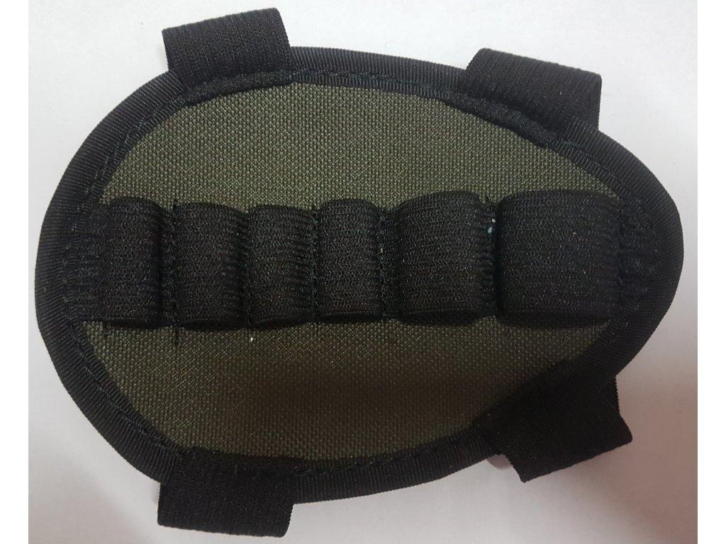 214122 lovecky navlek na pazbu kombinovany textilni zubicek