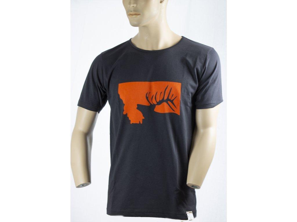 Tričko JELEN HLAVA - pánské,  ARC 4040, Archer Camp