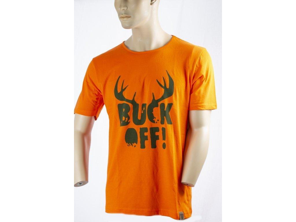 Tričko BUCK OFF - pánské, ARC 4040, Archer Camp
