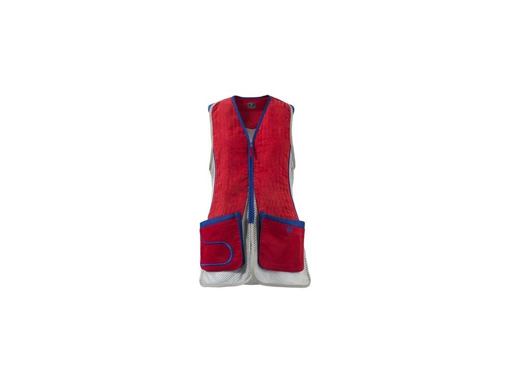 Střelecká vesta Beretta DT11 dámská, červená