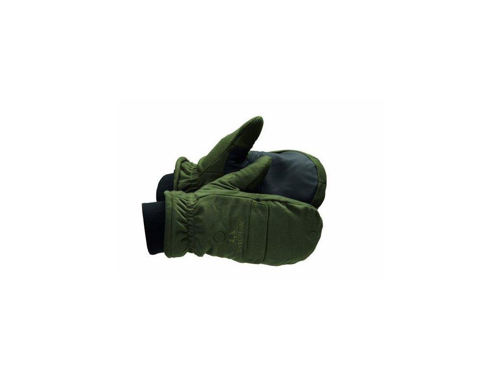 Střelecké rukavice GREEN, Swedteam