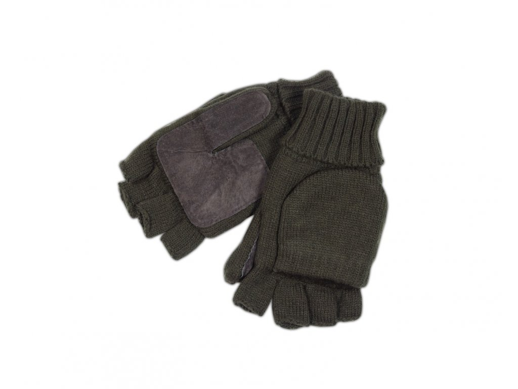 Glove knitted