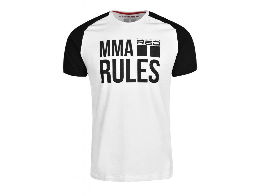 t shirt mma rules blackwhite