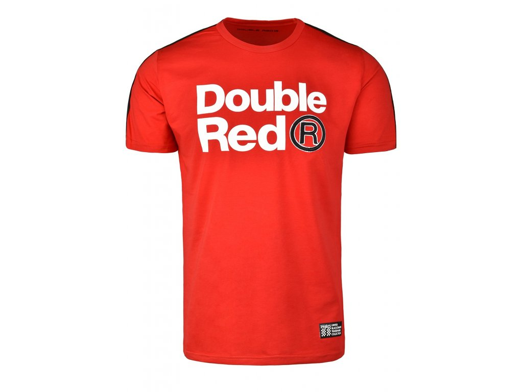t shirt trademark bw edition red