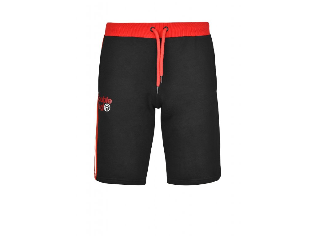 utter shorts blackred