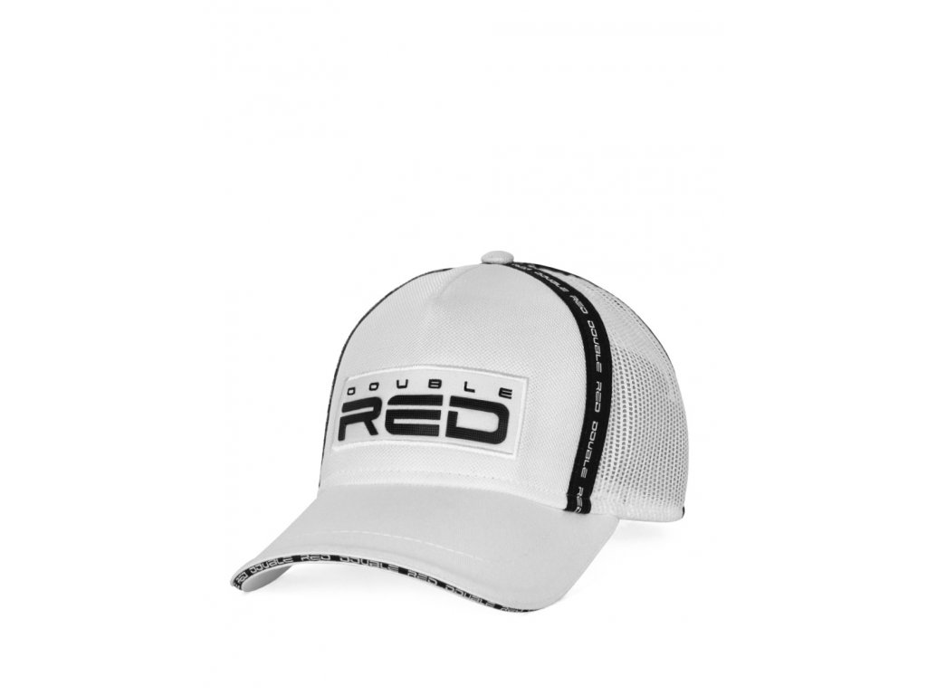 double red exquisit cap whiteblack