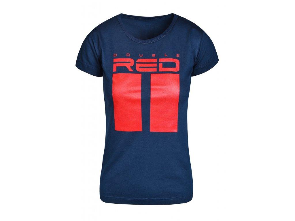 t shirt all logo dark blue
