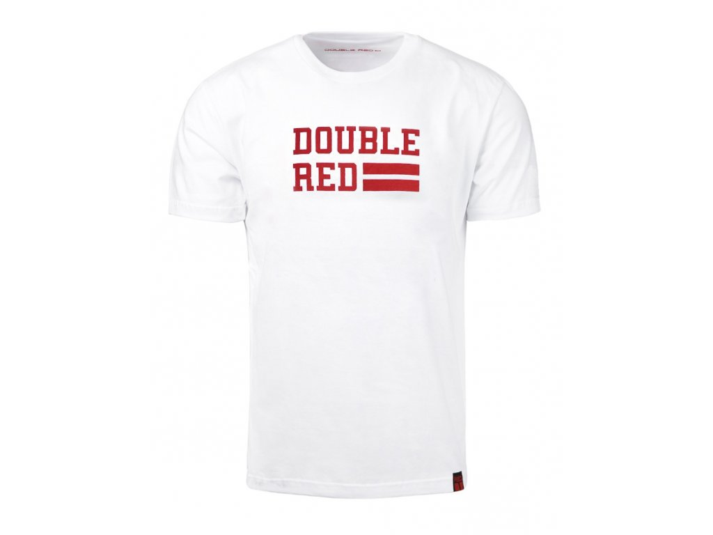 t shirt university of red white