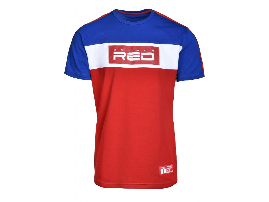 t shirt outstanding dark bluered