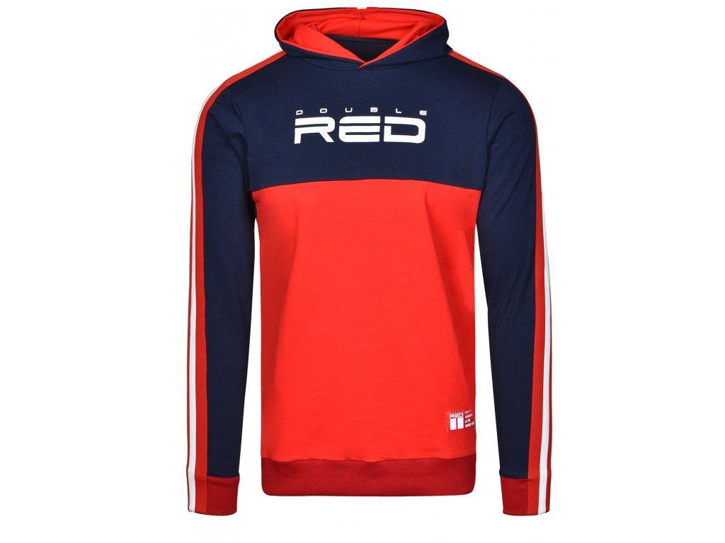 sweatshirt outstanding dark bluered