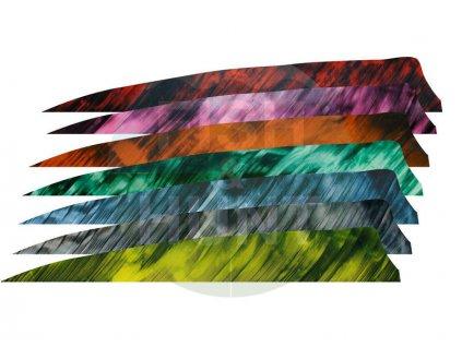 "Letka Gateway Feather 5"" Shield RW (Barva Camo Tre Yellow)"