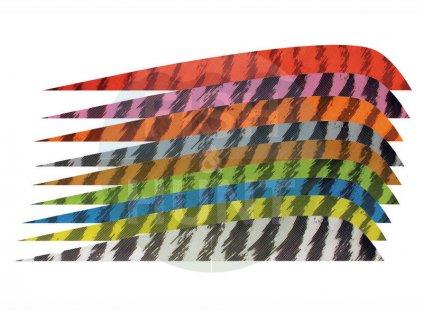 """Letka Gateway Feather 3"""" Parabolic RW (Barva Yellow)"""