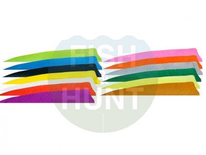 "Letka Gateway Feather 3"" Shield RW (Barva Yellow)"