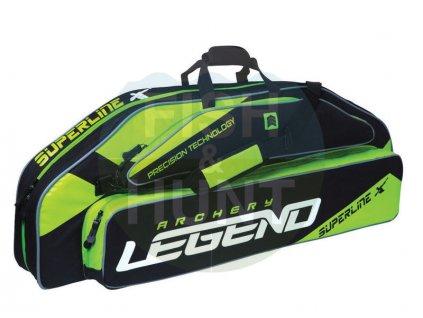 Pouzdro na luk Legend Archery  Superline 44 (Barva Black/Green)