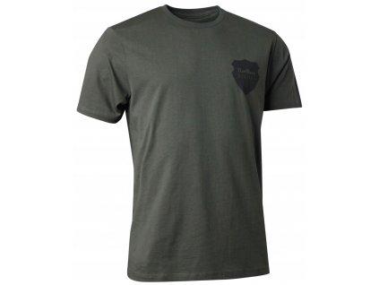 Northern Hunting Raven - olive, tričko pánské (Velikost XL)