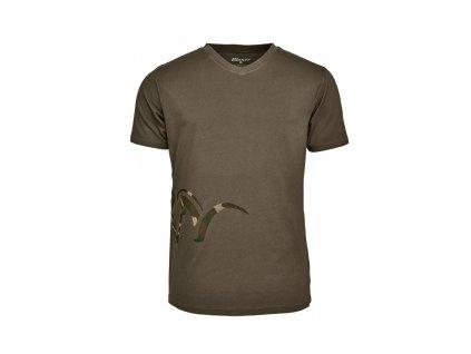 118011 006 555 Blaser V T Shirt oliv frontal