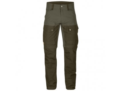 Fjallraven Keb Gaiter Long kalhoty (Barva 246-Tarmac, Velikost 60)