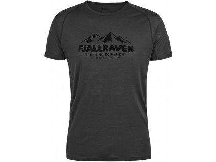 Fjallraven Abisko Trail Print tričko (Barva 520-Uncle Blue, Velikost XL)