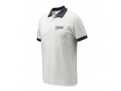 Beretta Polo Victory Corporate tričko, bílé (Velikost XL)