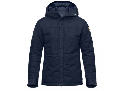 Fjallraven Skogso Padded Jacket bunda (Barva 555-Dark Navy, Velikost XL)