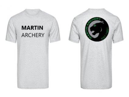 Triko šedé Martin Archery