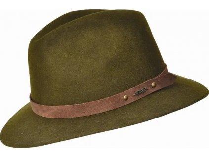 Myslivecký klobouk EDDY - zelený, unisex