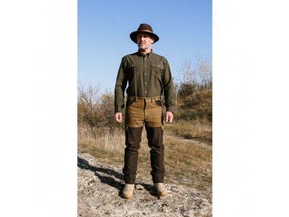 Kalhoty kožené Ramsau - pánské, Carl Mayer *