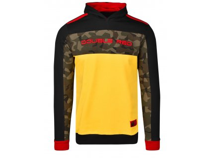 sweatshirt camocode blackyellow