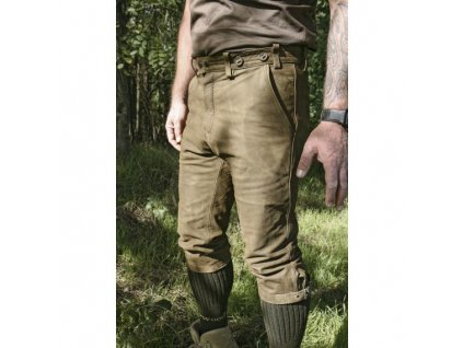 Pumpky kožené Braunau - zelené, Carl Mayer *
