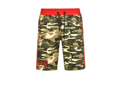 utter shorts green camo