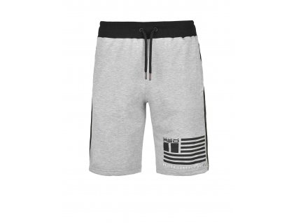 united cartels of red shorts light grey